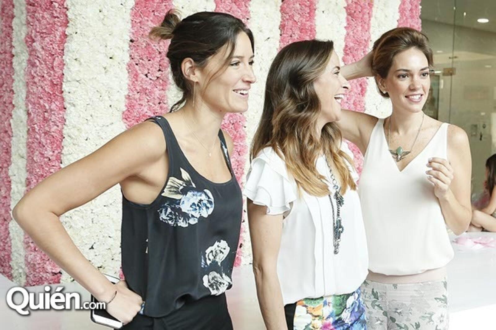 Alejandra Albarrán,Raquel Touché y Nona de la Rosa