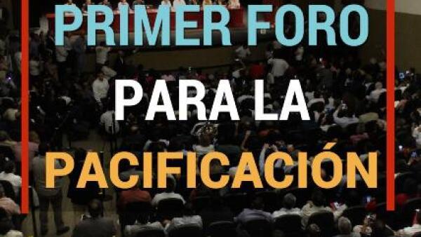 Los foros para la paz arrancan en Ciudad Juárez