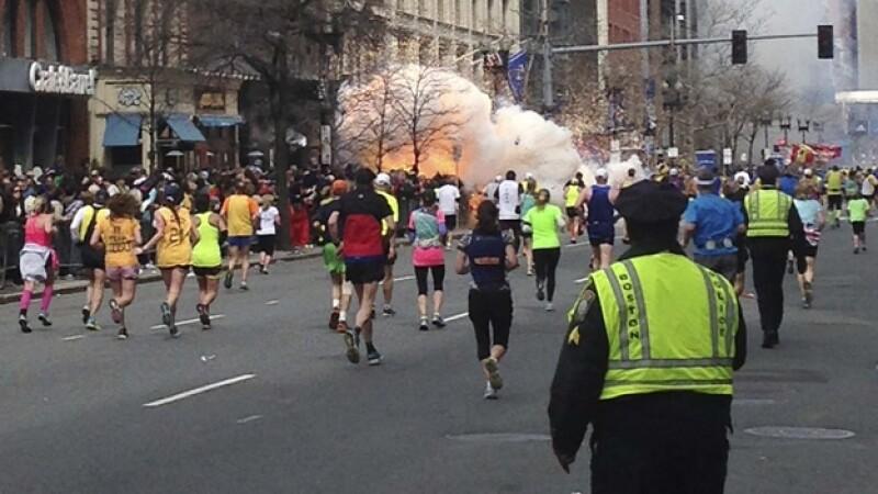Bostón explosión estallido bombas