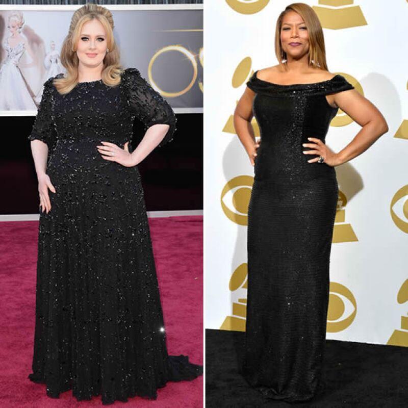 Celebs con este tipo de cuerpo: Adele y Queen Latifah