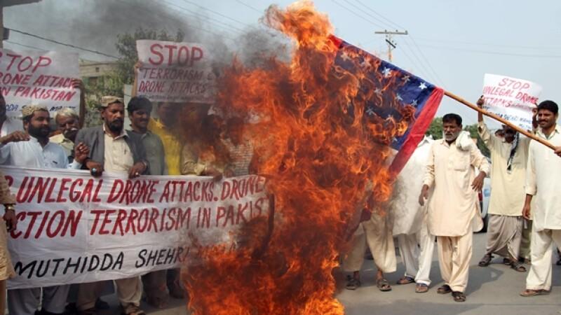 protestas paquistán
