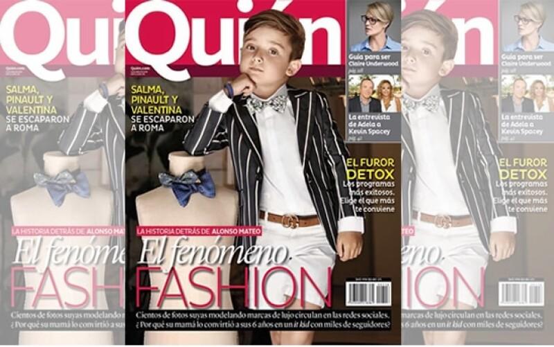 Alonso Mateo, el fenómeno fashion.