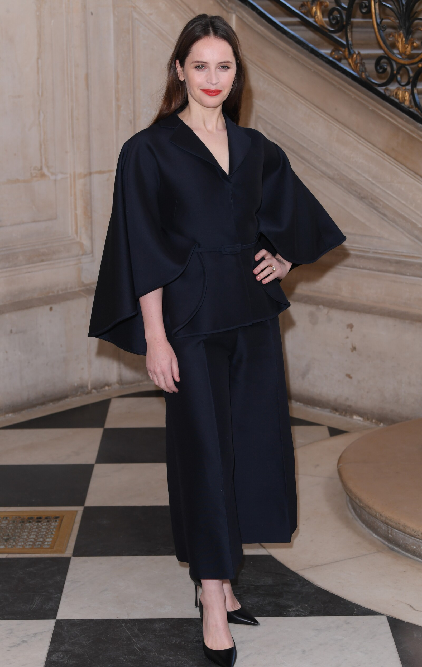 Christian Dior show, Front Row, Spring Summer 2019, Haute Couture Fashion Week, Paris, France - 21 Jan 2019