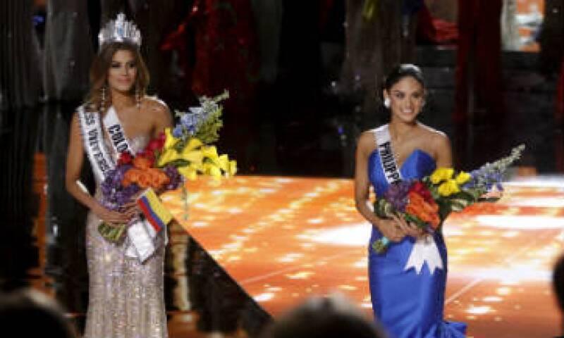 Miss Colombia, Ariadna Gutiérrez, fue brevemente coronada ganadora del certamen. (Foto: Reuters)