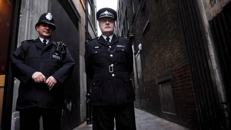 policias de londres