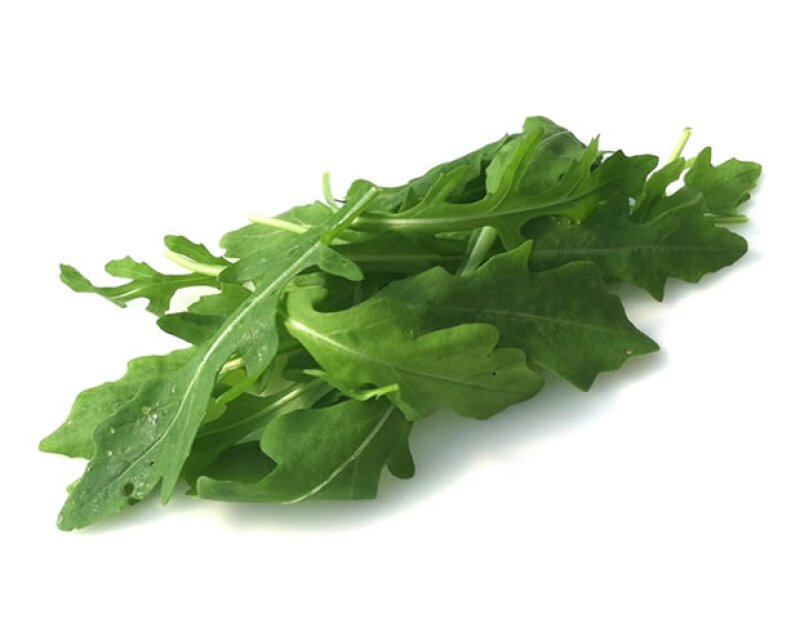 La arúgula tiene sólo 4 calorías por taza.