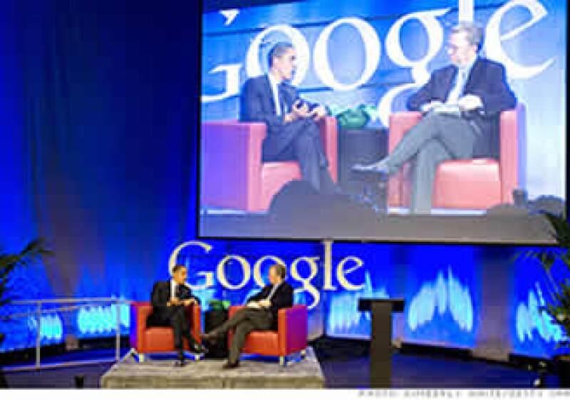 El presidente ejecutivo de Google aportó dinero de su bolsillo a la campaña de Barack Obama en 2008. (Foto: Cortesía Fortune)