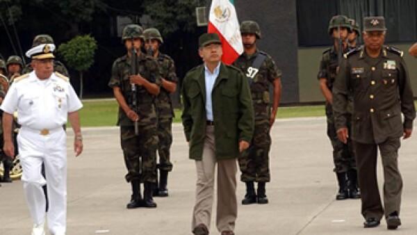Calderón lanzó en Michoacán una campaña militar anticrimen en 2007. (Foto: Cuartoscuro/Archivo)