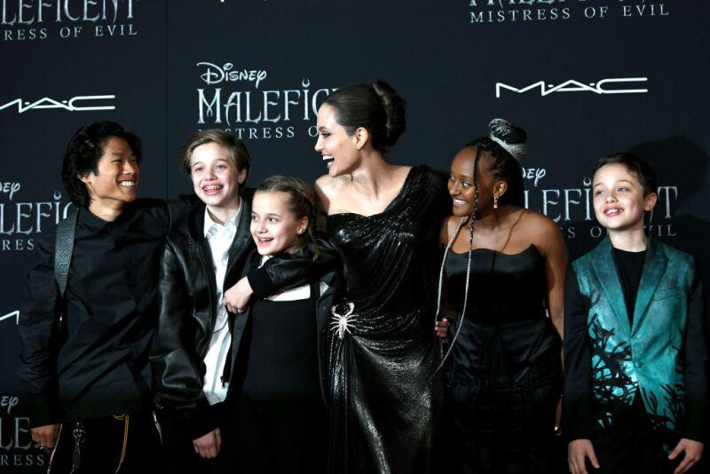 Los Hijos De Angelina Jolie Se Roban El Spotlight En El