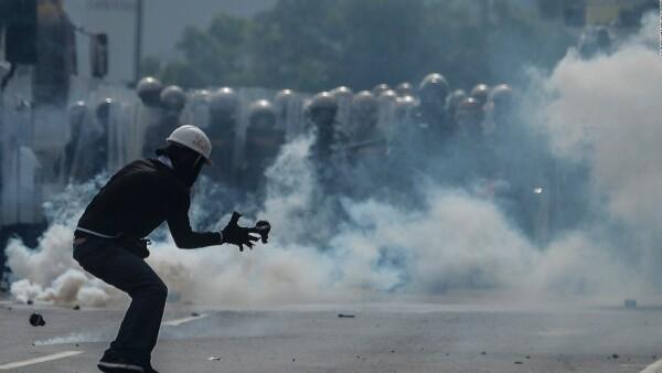 Se cumplen dos meses de protestas en Venezuela