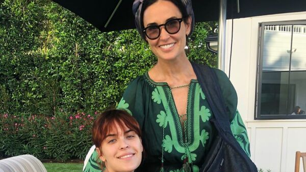 Tallulah y Demi Moore.