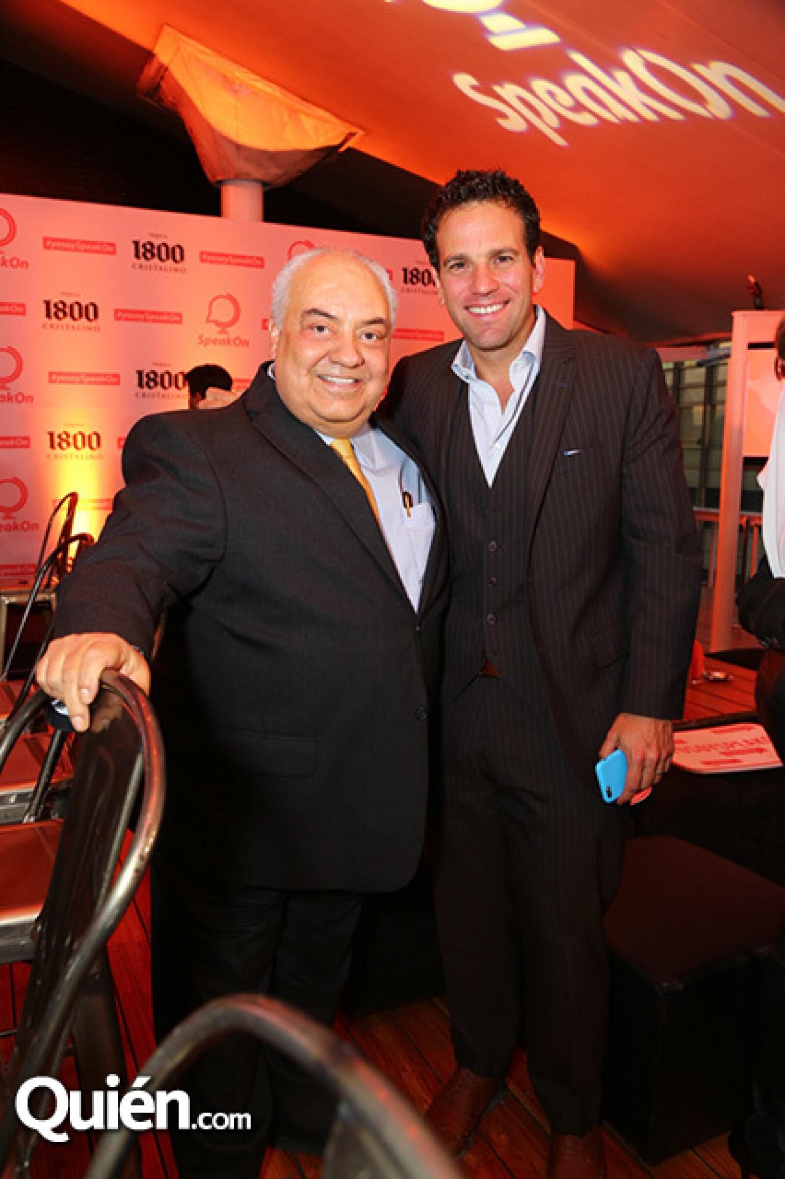 Jorge Berry y Carlos Loret de Mola