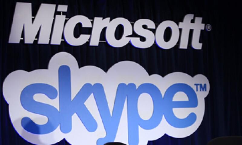 En 2011, Microsoft acordó la compra de Skype por 8,500 millones de dólares. (Foto: AP)