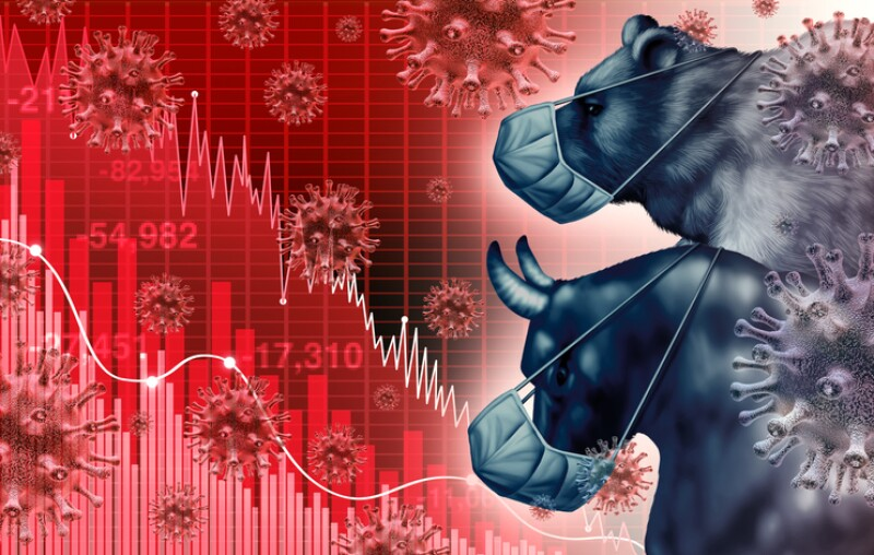Global Economy Pandemic Fear