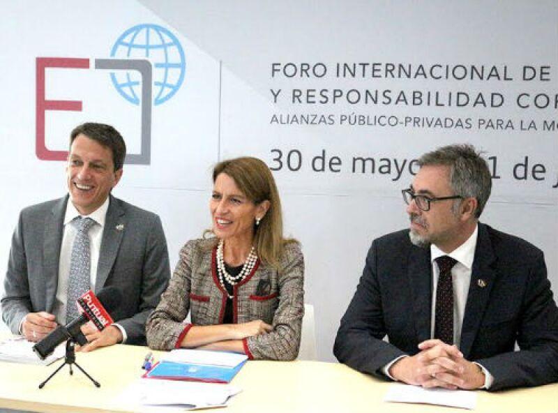 Inauguraci�n del Foro sobre formaci�n dual, organizado por Audi M�xico y UENSCO M�xico