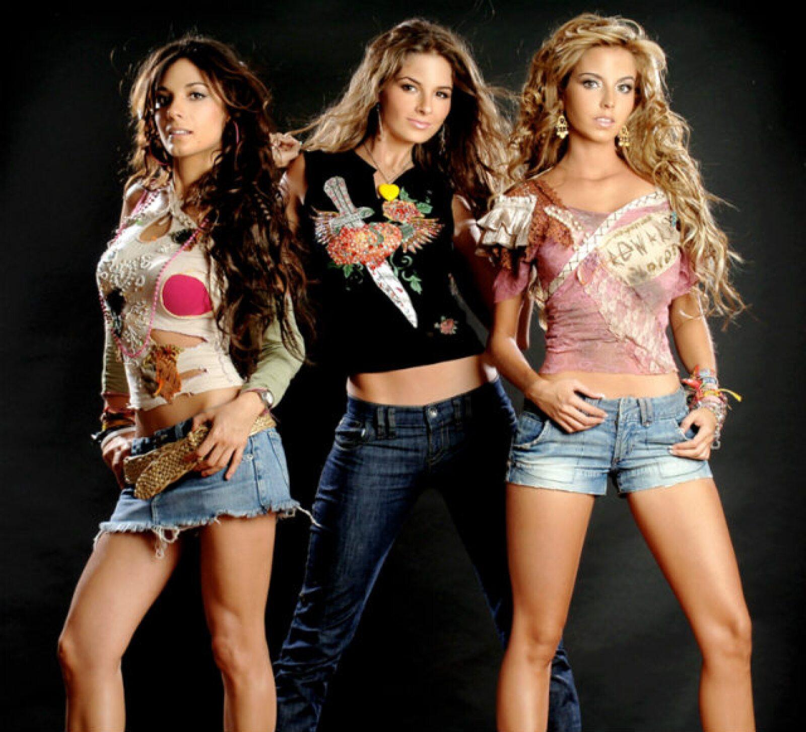 Paty, Marcela y Karla fueron la última alineación de Jeans, en 2008, ya como trío.