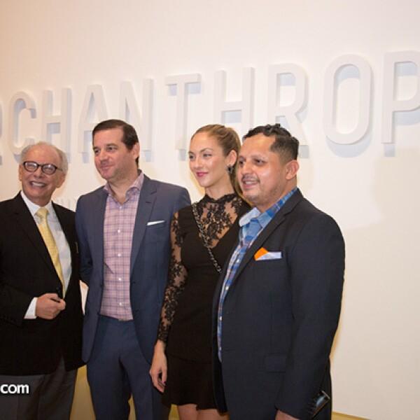 Enrique González,Federico Santos,Caty Zambrano de Ramos y Tony Pichardo