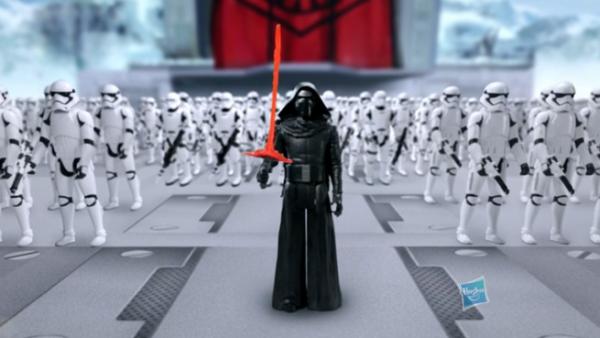 Los personajes de 'Star Wars' le dieron fuerza a Hasbro en sus ventas y ganancias.