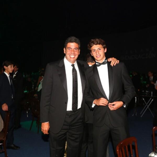 Arturo Elías Ayub y Arturo Elías Slim