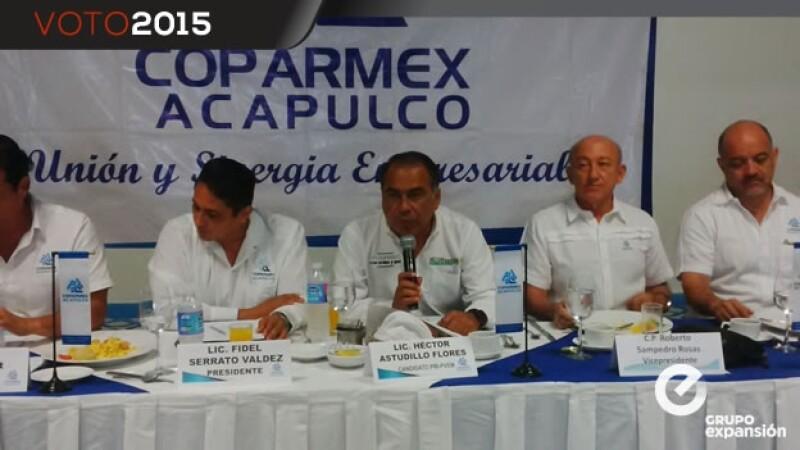 Astudillo-Coparmex