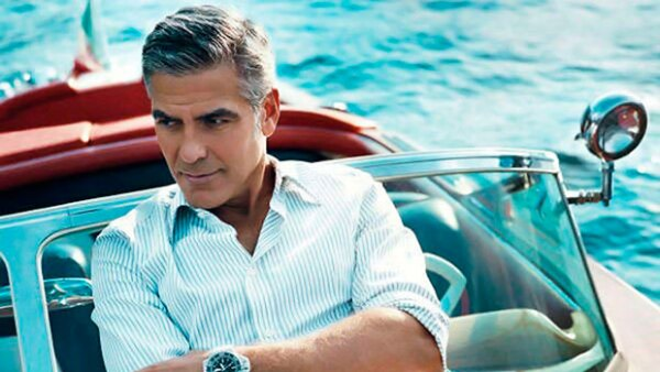 George Clooney es uno de los galanes por excelencia, su estilo clásico es referente en Hollywood.