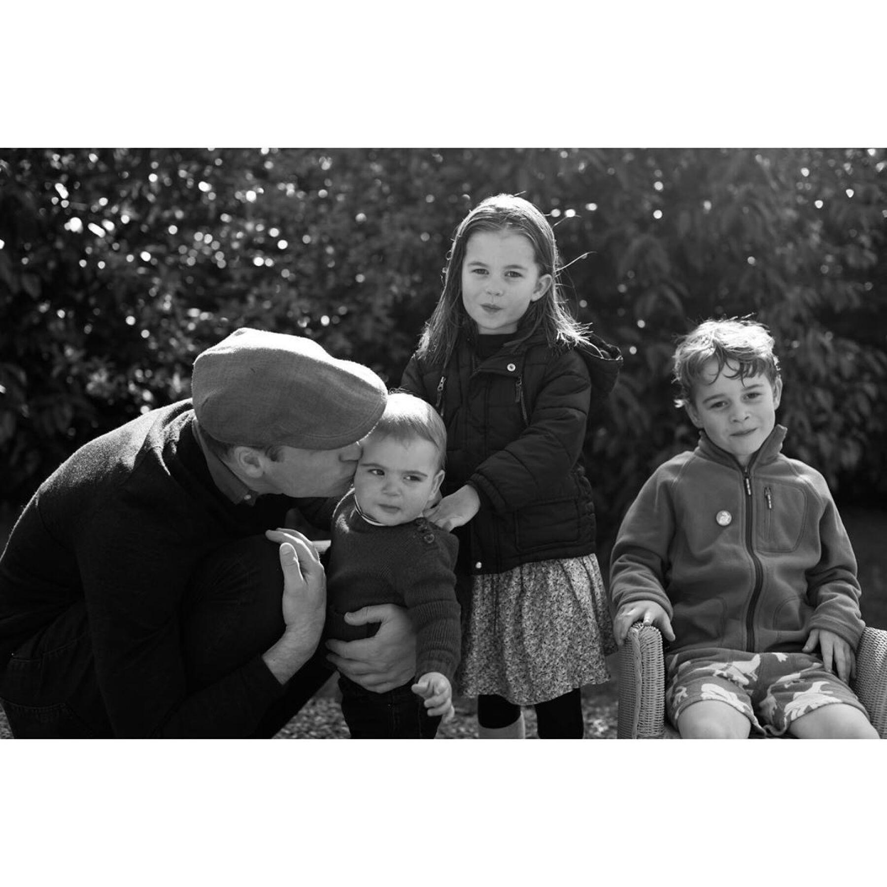 Príncipe William, George, Charlotte y Louis