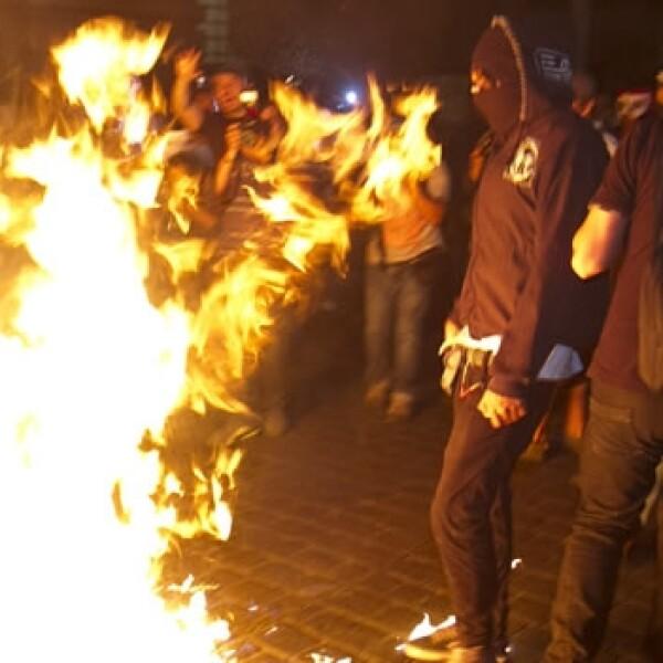 anarquistas, marcha, mexico