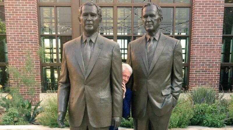 Entre 'los Bush'