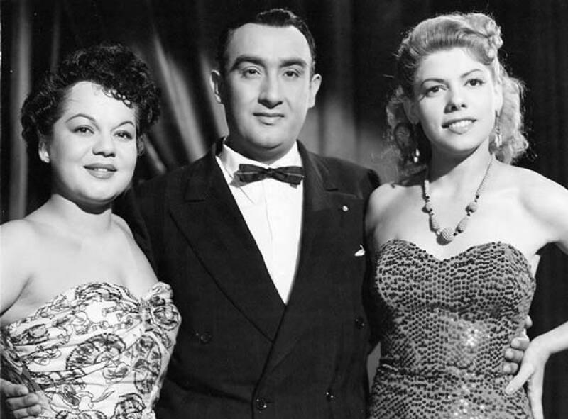 La actriz también formó parte del show Aventurera, junto con Ana María González y Pedro Vargas.