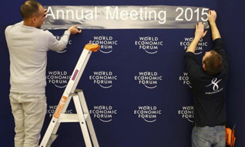 El Foro de Davos nació hace 44 años como un foro empresarial. (Foto: Reuters )
