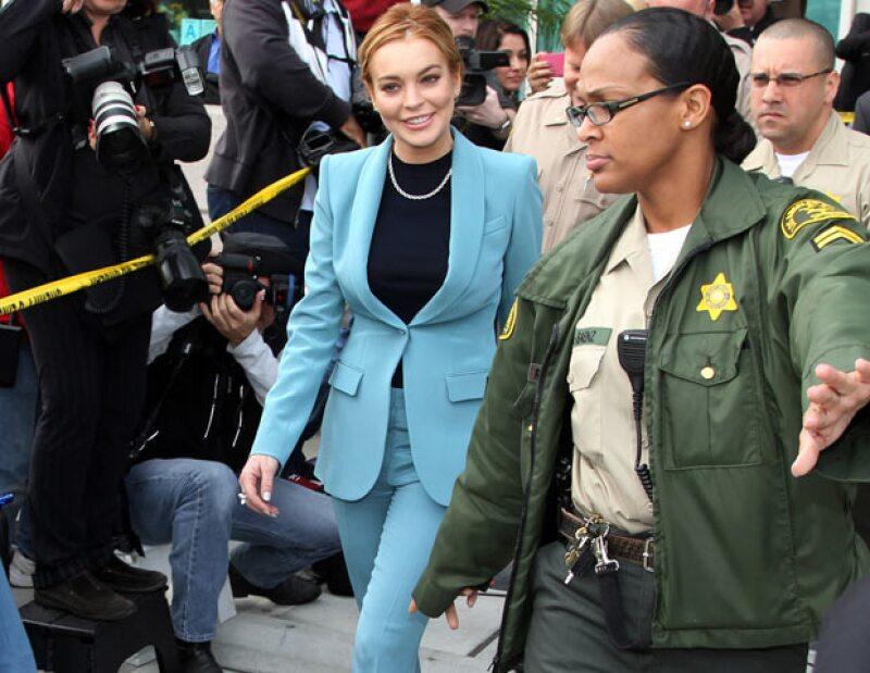 La actriz tuvo que ser cuestionada por la policía debido a que acudió a una fiesta en una casa de Hollywood Hills, donde fueron robadas unas joyas.