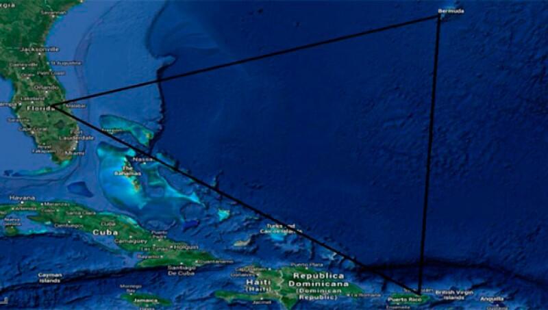 En la misteriosa zona podrían existir explosiones de gas metano que provocarían el hundimiento de barcos.
