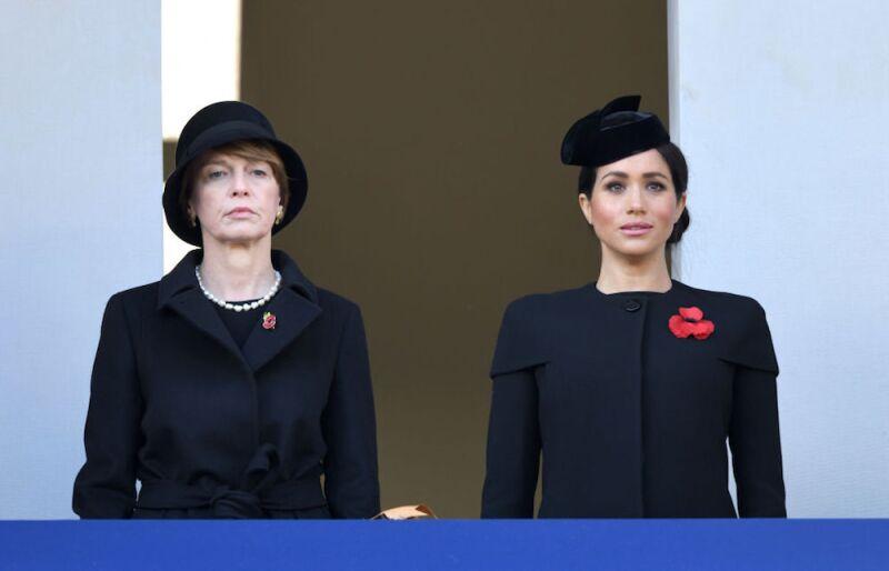 Meghan Markle en el acto del 100 aniversario del fin de la Primera Guerra Mundial (Getty Images)