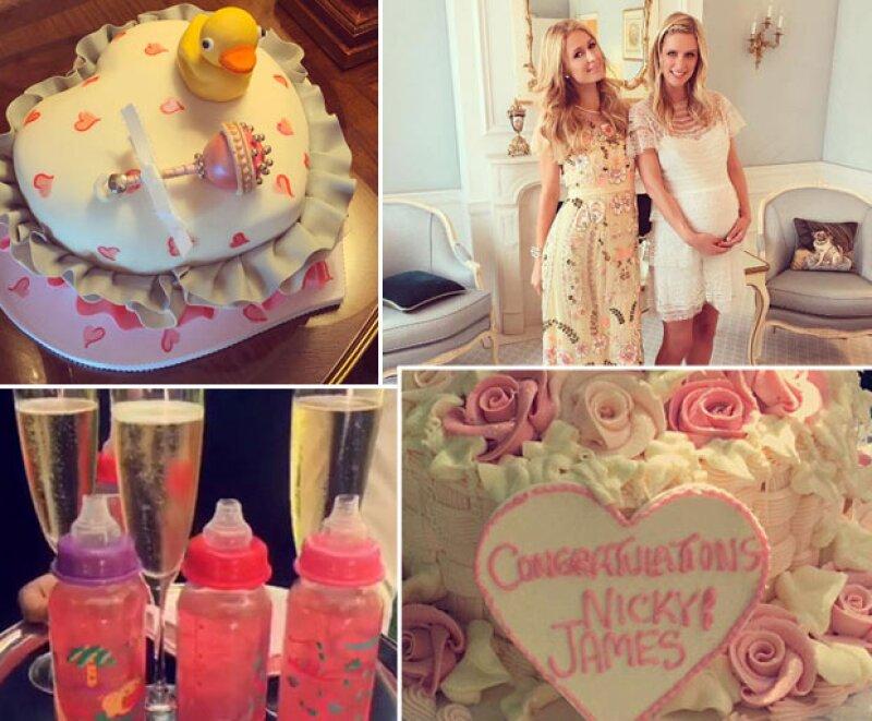 El segundo baby shower fue organizado por Paris.