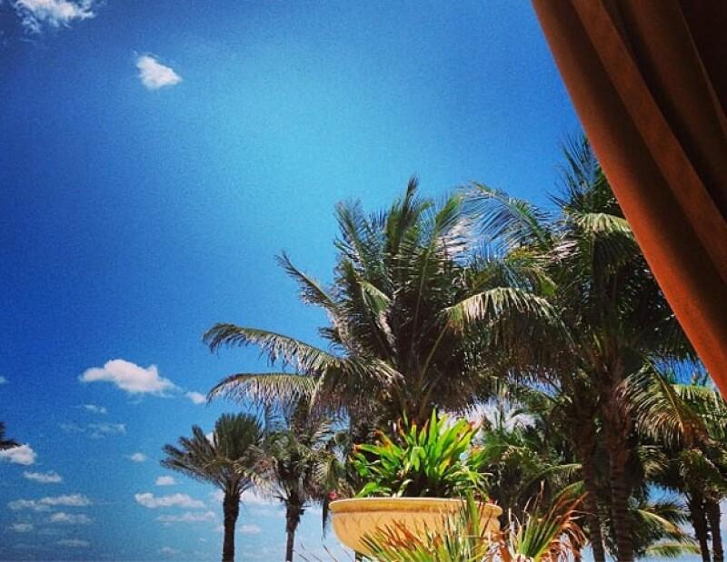 Thalía pasará un tiempo en Miami.