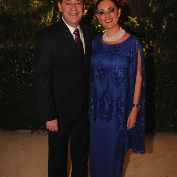 Ernesto Ouset y Chely Figueroa