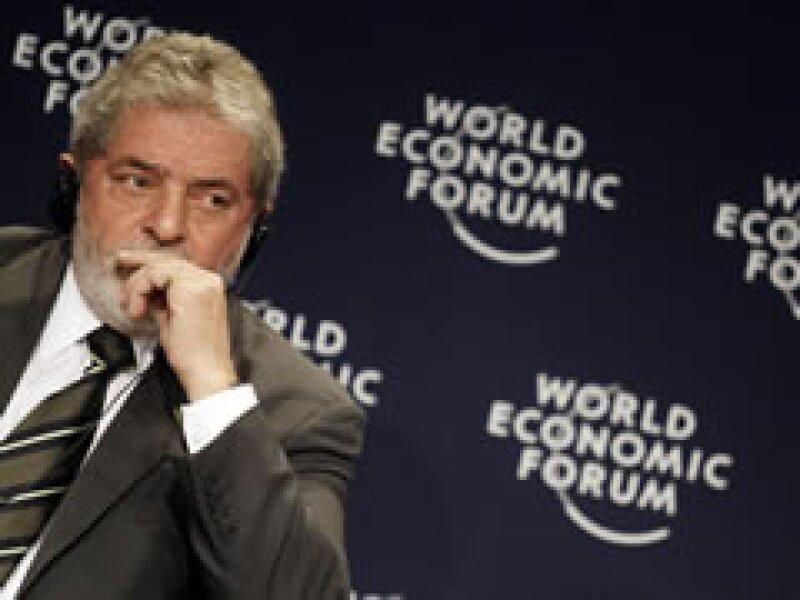 El presidente brasileño, Luiz Inácio Lula da Silva, es el anfitrión de Foro Económico Mundial. (Foto: Reuters)