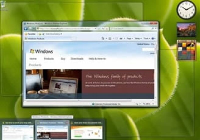 Microsoft pondrá a la venta su nuevo sistema operativo, Windows 7, el 22 de octubre. (Foto: AP)