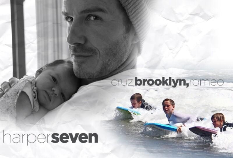 Los niños Beckham tienen de dónde aprender, pues sus padres son una pareja muy cool.
