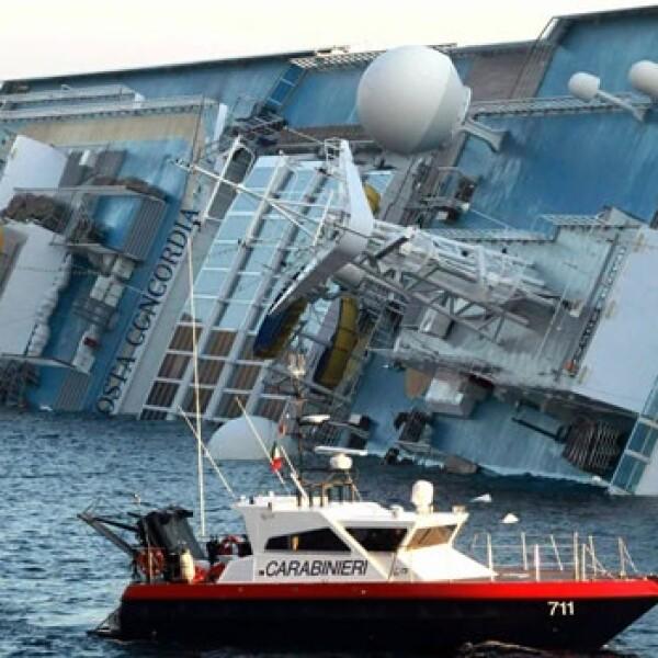 costa concordia crucero italia
