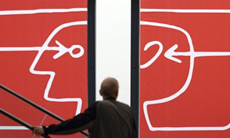 El escaparate tecnológico, cuyo logo se muestra en esta imagen, se realiza en Berlín, Alemania. (Foto: EFE)