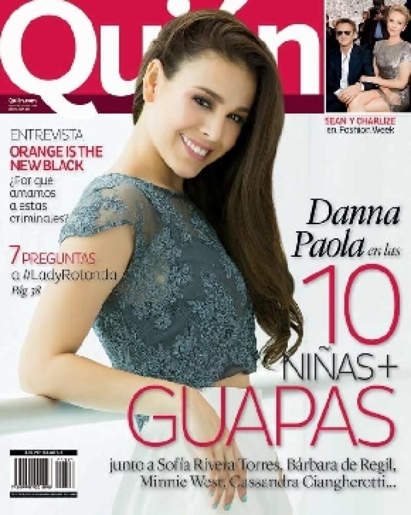 Danna Paola en la portada de Quién