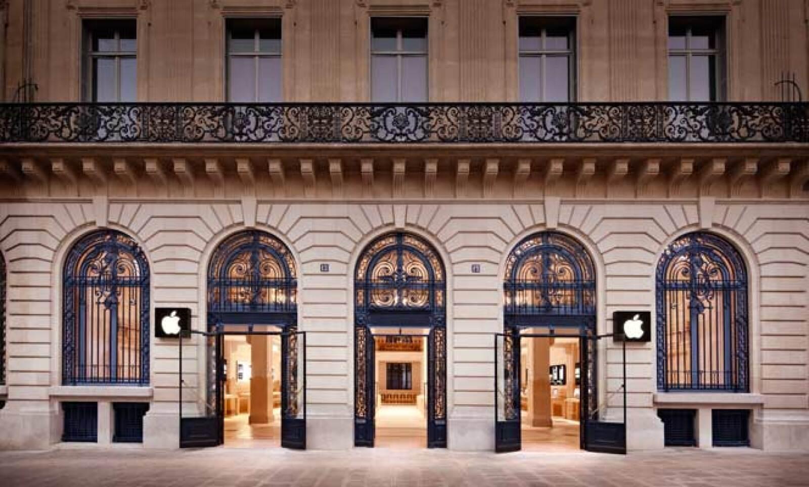 El estilo de París se impregna en esta tienda, que fue abierta en 2008.