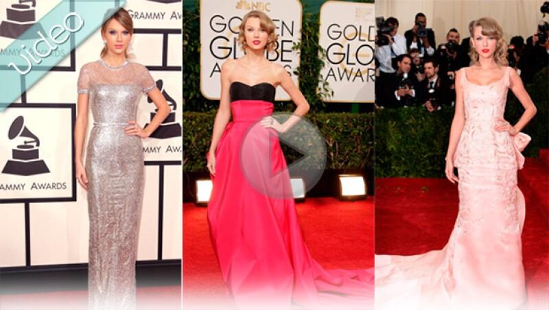 Con este recuento de los mejores looks de Taylor Swift, descubre por qué la cantante impactó en cada red carpet a la que asistió.