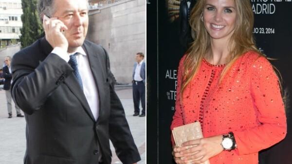 La prensa española hace cada vez más evidentes los encuentros entre la mexicana ex esposa de Cayetano Martínez y el político José María Michavila, quienes habrían empezado romance en julio.