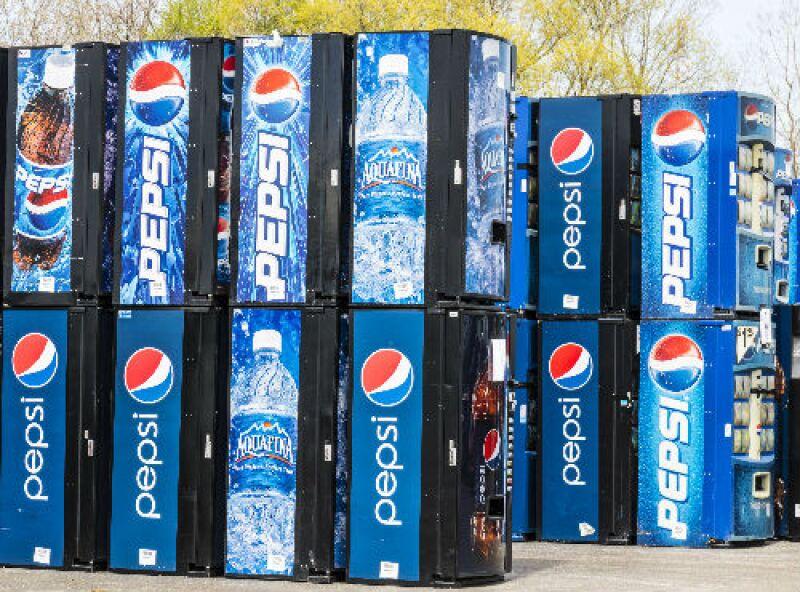 refrigeradores de Pepsi