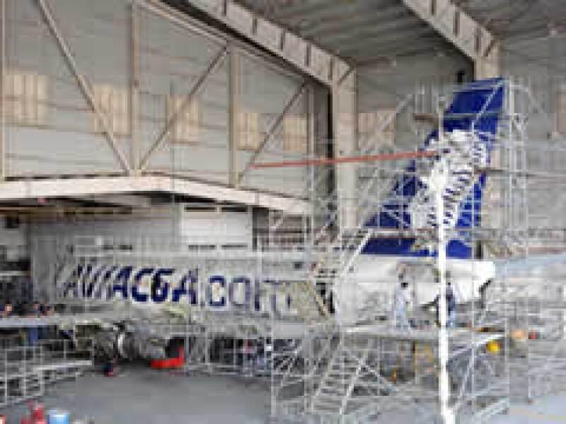 El director de Aviacsa, Eduardo Morales Mega, insistió en que las 280 anomalías detectadas son cosméticas.  (Foto: Notimex)