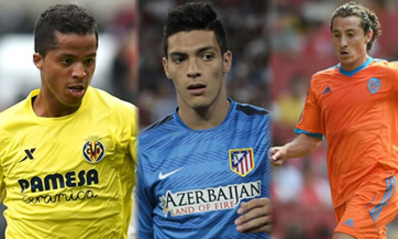El récord de mexicanos en la liga española era de la campaña 2013-14 con siete. (Foto: Especial)