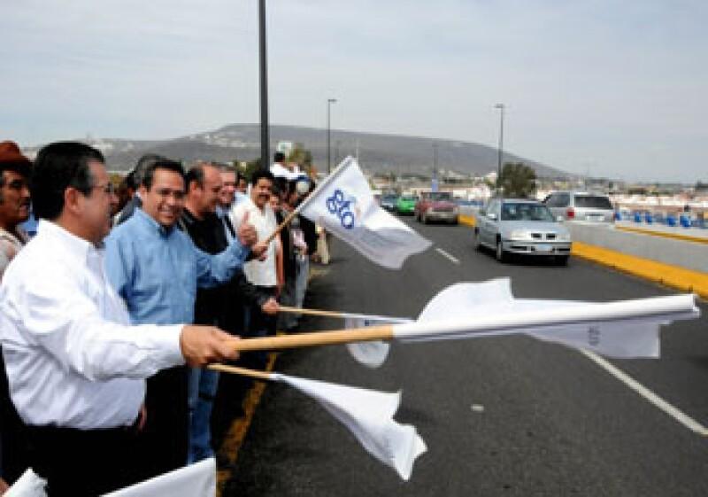 El Gobierno de Guanajuato inauguró el Puente Vehicular Bicentenario de Irapuato. (Foto: Cortesía Gobierno de Guanajuato)