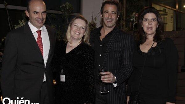 Ignacio Zorrilla, Deborah Newmark, Andy Levine y Paola Prieto